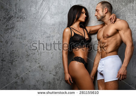 stock-photo-sexy-and-fit-couple-in-underwear-281155610